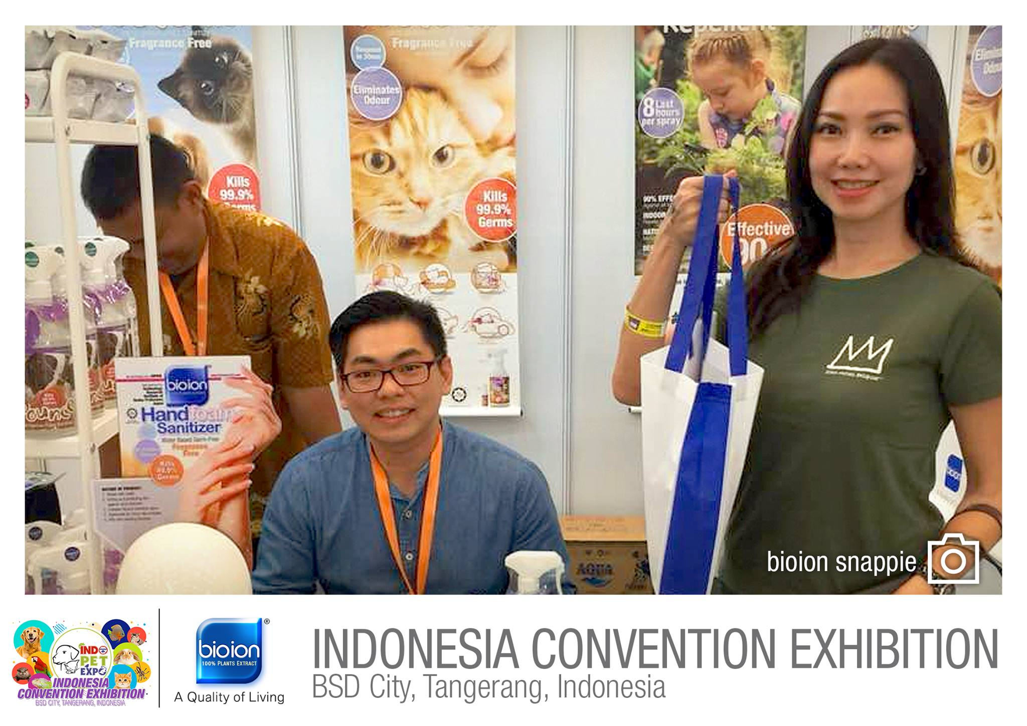 Indo Pets Expo 2018 Indonesia - Bioion World