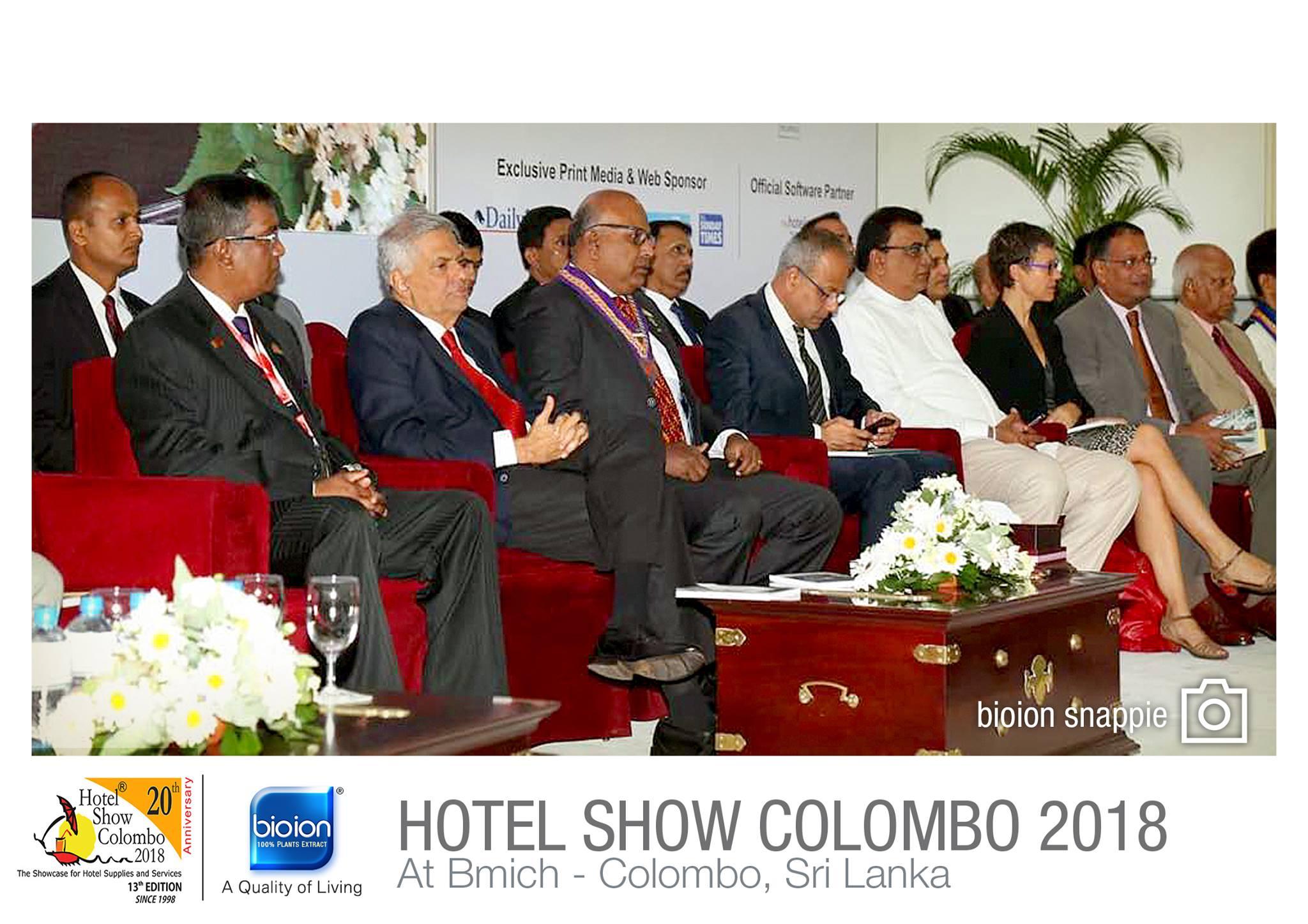 Hotel Show Colombo 2018, Sri Lanka - Bioion World